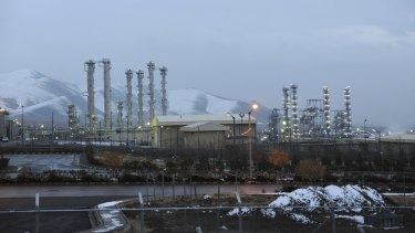 This 2011 file photo shows the heavy water nuclear facility near Arak. Iran and six world powers reached a landmark nuclear deal on Tuesday meant to place long-term verifiable limits on nuclear programs that Tehran could modify to make atomic arms.