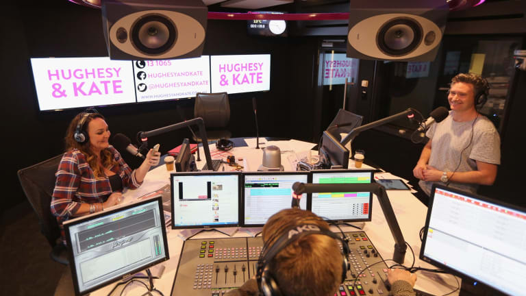 Hughesy and Kate are taking their top-rated drive show to 2DayFM in January.