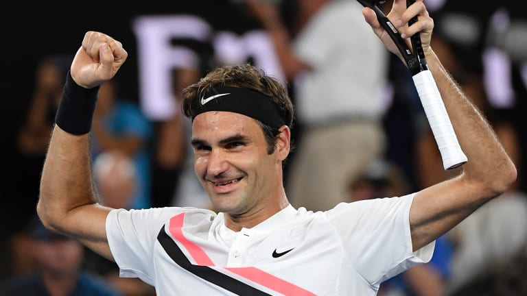 Roger Federer's Australian Open win was also a ratings winner for Seven.