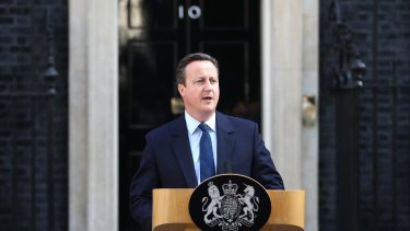 British Prime Minister David Cameron resigns in the wake of the historic EU referendum.
