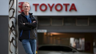 Peter Cook is a Toyota worker of 27 years and has numerous skills.