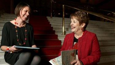 Friends and collaborators: Freya Blackwood and Libby Gleeson.