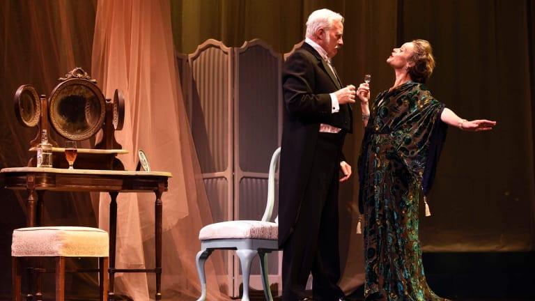 John O'May and Nadine Garner