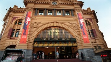 $100 million is being spent on the Flinders Street station upgrade.