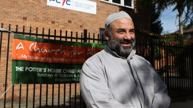 Keysar Trad, who was elected president, has been locked out of AFIC's offices in Zetland since Monday.