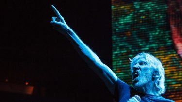 Roger Waters on his Australian tour.