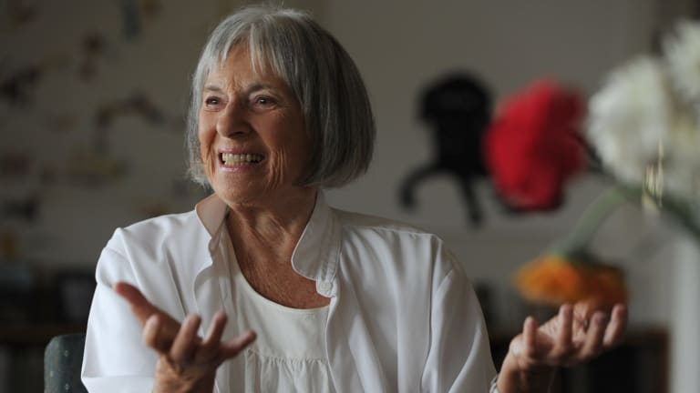 A new electorate could be named for former National Gallery of Australia director, Betty Churcher.