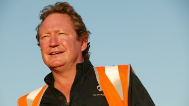 """Andrew Forrest's Fortescue says the court's decision """"has no impact on the current and future operations or mining tenure at the Solomon Hub""""."""