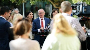 Jay Weatherill is on the campaign trail in South Australia ahead of the state election.