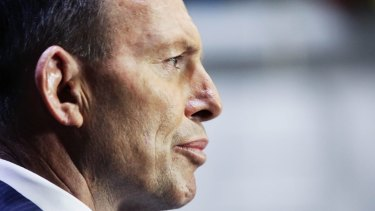 """Angry and frustrated"": Prime Minister Tony Abbott."