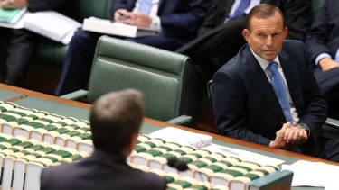 Prime Minister Tony Abbott's popularity has also fallen.