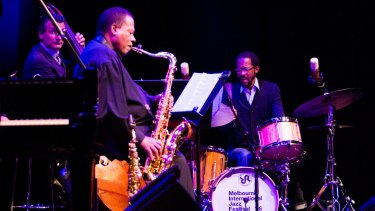 The Wayne Shorter Quartet performs the final show at the Melbourne International Jazz Festival.