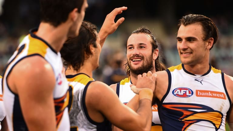 Chris Masten and Dom Sheed are both on the injury list for the West Coast Eagles