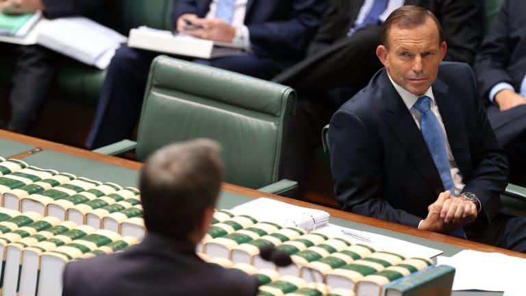 Prime Minister Tony Abbott's popularity has also fallen.