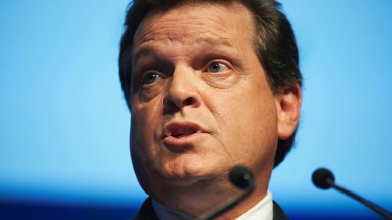 Chevron Australia managing director Roy Krzywosinski.