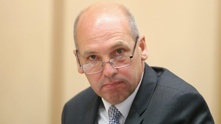 Senate President Stephen Parry is keeping secret security upgrades planned for Parliament House.