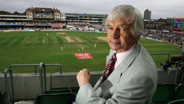Respected: the British press have paid tribute to Richie Benaud..