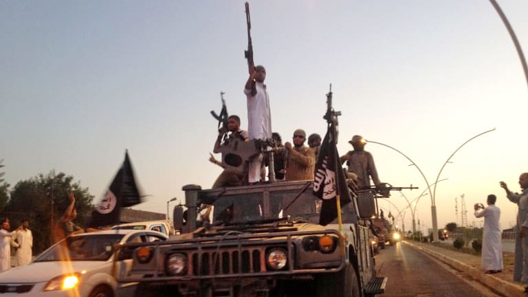 Ruthless: Islamic State fighters are leaving a trail of bloodshed across Iraq, with their latest massacres reported in the Anbar province.