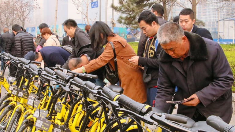 Even the bike-sharing craze that's drawn so much attention in the West has exploded largely because of China's unique environment.