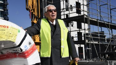 Property tycoon Harry Triguboff takes second spot, after his fortune rose by $US3 billion, to $US9.9 billion.
