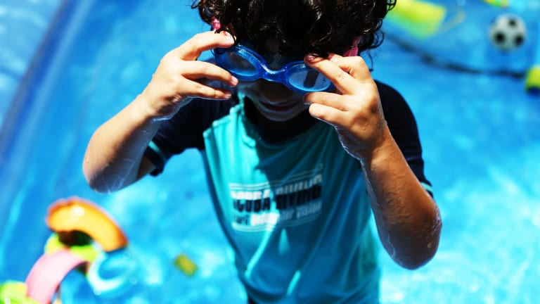 The world is still waiting for a pee-detecting pool chemical.