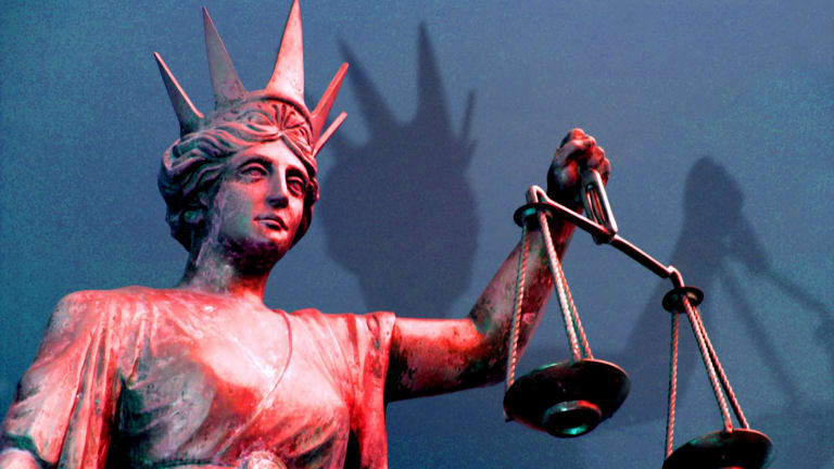 A youth worker has received compensation after being sexually assaulted by a client.