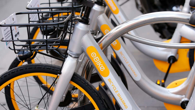 The bikes first hit the city streets on June 15.