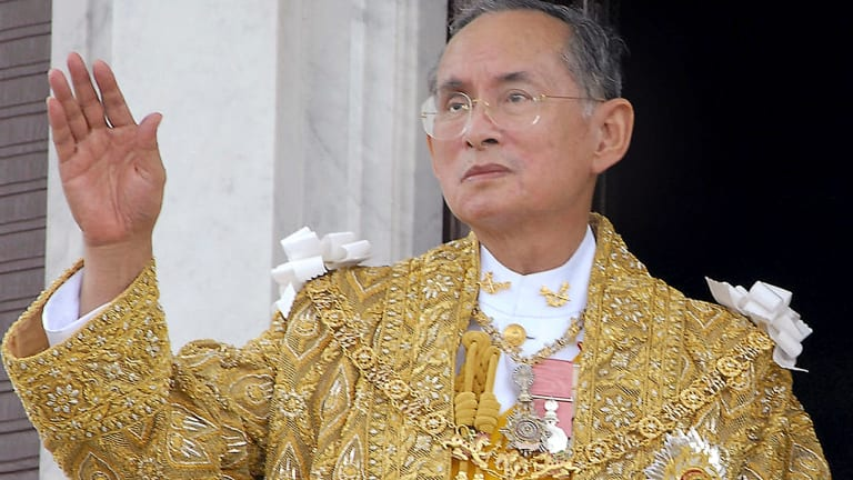 Thailand's King Bhumibol Adulyadej died in October 2016.