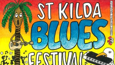 St Kilda Blues Festival, March 22-24.