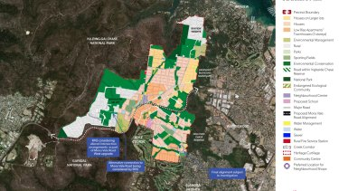 The Ingleside Precinct spans about 700 hectares on Sydney's northern beaches between Bayview and Elanora Heights and Ku-ring-gai Chase and Garigal national parks.