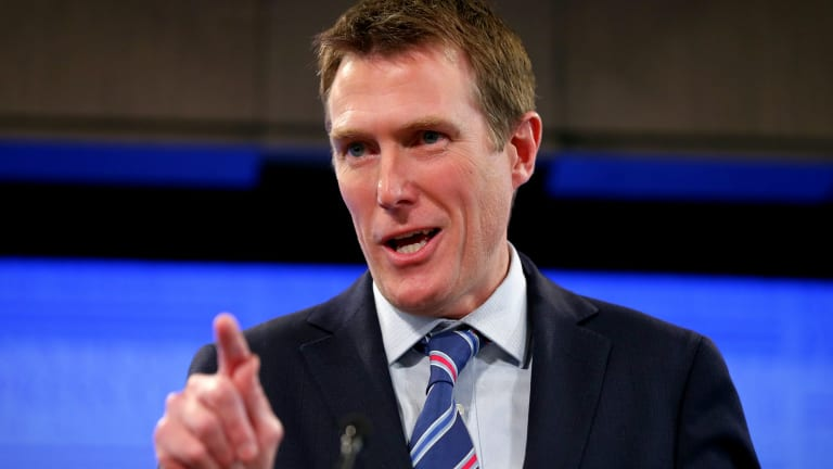Minister for Social Services Christian Porter has been dubbed leader of the 'Canberra Six'.