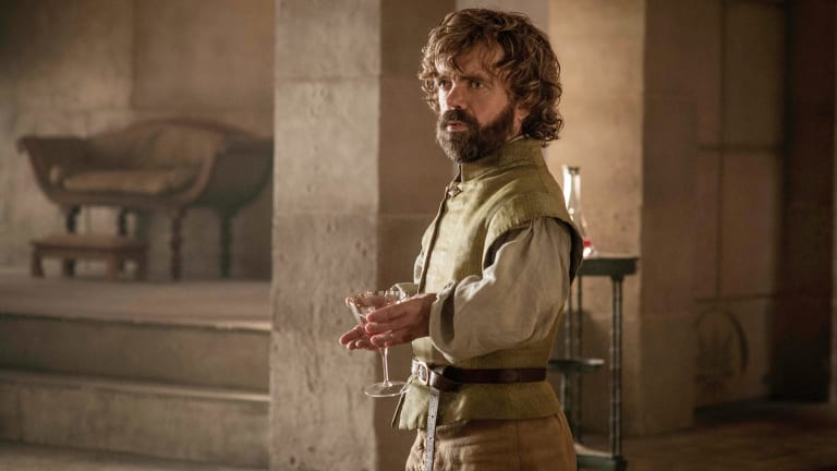 Tyrion Lannister explains that his strategy has been working, sort of.