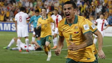 Go-to man: Tim Cahill scored twice.