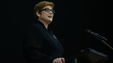 Defence Minister Marise Payne announces a major increase in the Defence budget.