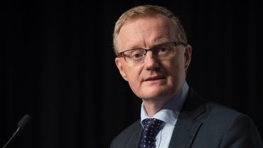 "RBA governor Philip Lowe: ""The outlook for non-mining investment has improved recently and reported business conditions are at a high level."""