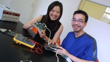 Le and Nam Do, co chief executives of SASME.