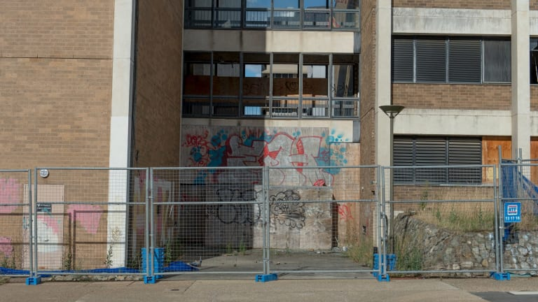 Woden town centre is derelict and needs some imagination to improve the situation.