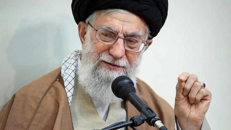 Iranian Supreme Leader Ayatollah Ali Khamenei said his country's enemies have meddled in recent protest rallies.