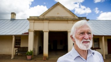 Rick Williams, manager of Cooma Cottage, Yass, the former residence of Hamilton Hume.