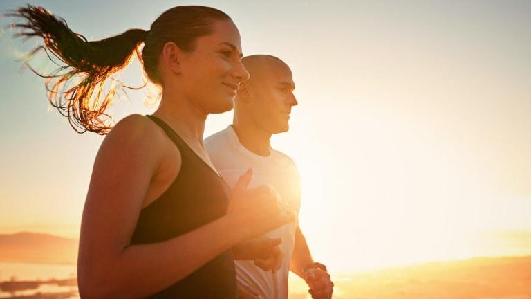 Running towards better mental fitness.