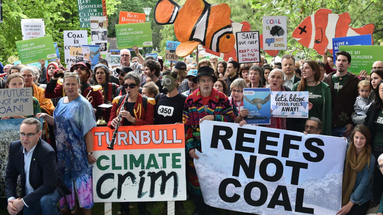 Organisations like the Australian Conservation Foundation would be allowed tax deductibility only if they cleaned up oil spills.