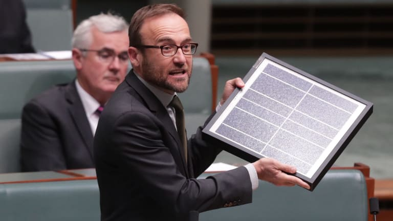 """""""It's time to admit that competition has failed to deliver electricity that is cheap and clean,"""" Adam Bandt said."""