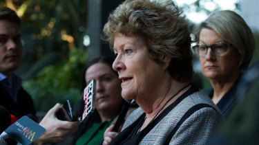 NSW Health Minister Jillian Skinner gave a press conference about the tragic death of a baby at Bankstown Hospital last Tuesday.