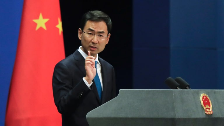Chinese Foreign Ministry spokesman Geng Shuang said China has no intention of exerting influence with political donations.