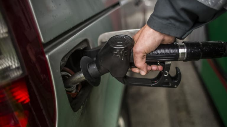 Aussie motorists are paying 10¢ a litre on average more when they fill up with petrol compared with this time last year when they forked out an average $1.25 a litre.