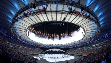 The Olympics: a great public spectacle but a private party when it comes to media coverage.