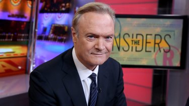 MSNBC host Lawrence O'Donnell.