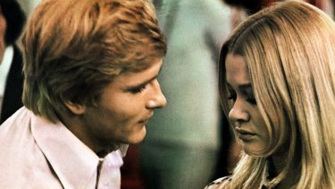 Martin Potter and Judy Geeson play hipster twins in Goodbye Gemini.