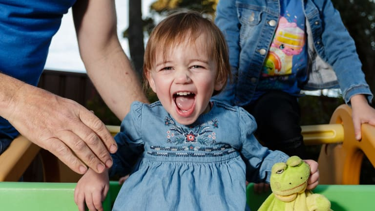 Sophia was born with a hole in her heart that caused a ventricular septal defect and needed major heart surgery to repair.