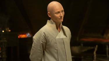 In 2016's <i>Doctor Strange</i>, Tilda Swinton played the Ancient One, a monkish character who was depicted as a Tibetan man in the Marvel comic books.